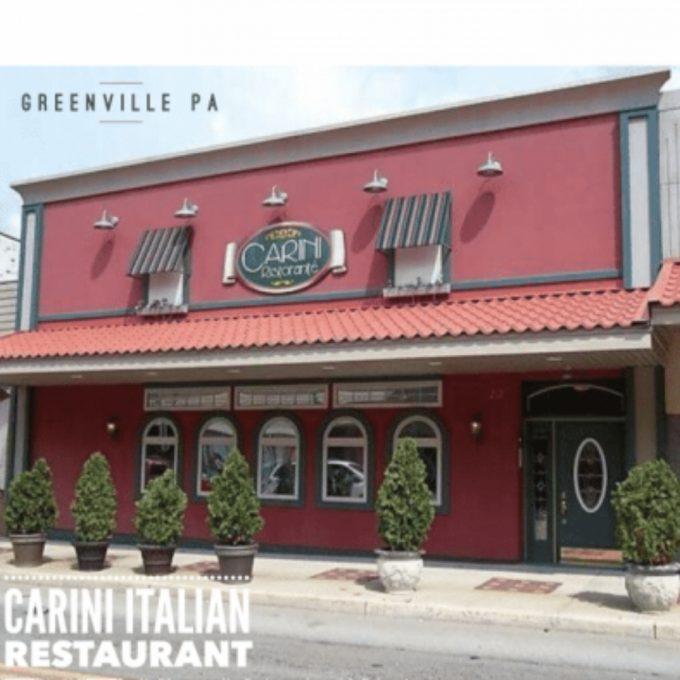 Carini Italian Restaurant,  (Greenville PA)