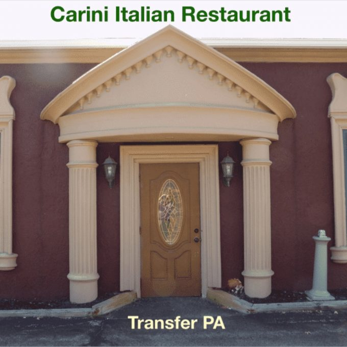 Carini Italian Restaurant (Transfer PA)